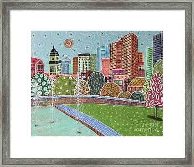 Rose Fitzgerald Kennedy Greenway Boston Framed Print