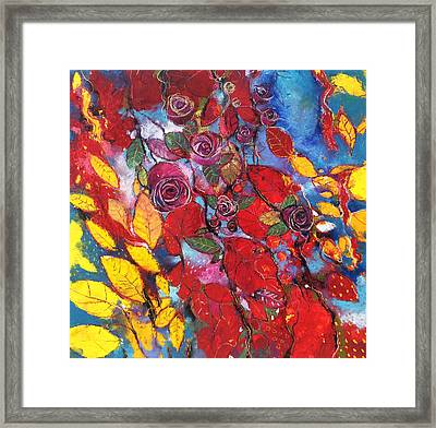 Rose Garden Framed Print by Alessandro Andreuccetti