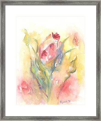 Rose Garden One Framed Print