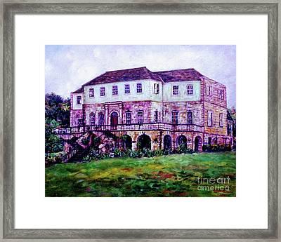 Rose Hall Great House Framed Print