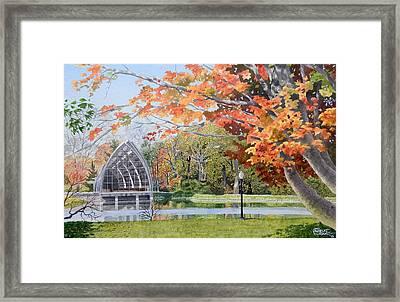 Rose Hulman Terre Haute Indiana Framed Print