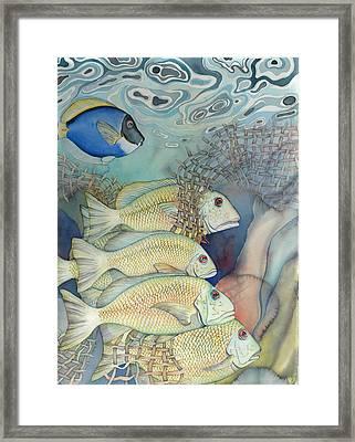 Rose Island II Framed Print by Liduine Bekman