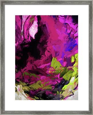 Rose Magenta Framed Print