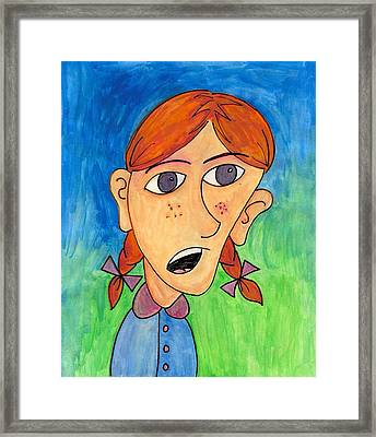 Rose Marie Framed Print by Jessica Kauffman