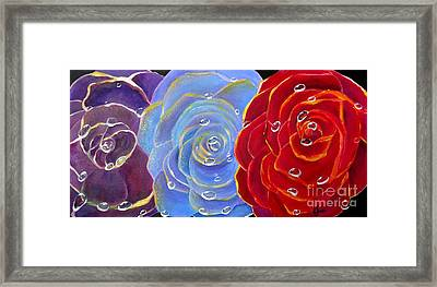 Rose Medley Framed Print