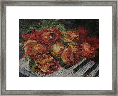 Rose Melody Framed Print by Stephen King