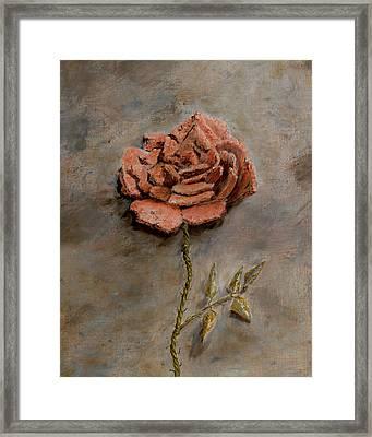 Rose Of Regeneration - Small Framed Print