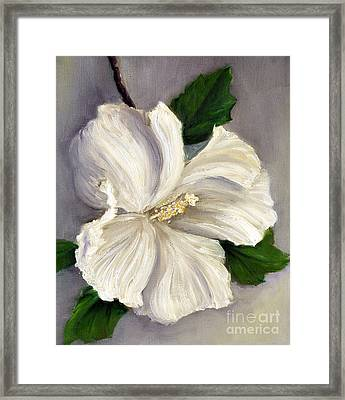 Rose Of Sharon Diana Framed Print