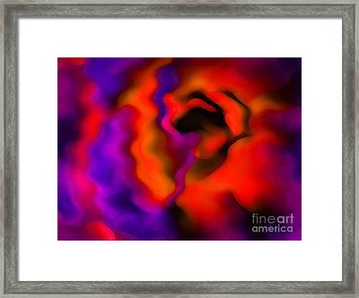 Rose Of Wonder Framed Print by Krissy Katsimbras