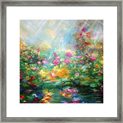 Rose Paint Framed Print by Alexandr Az