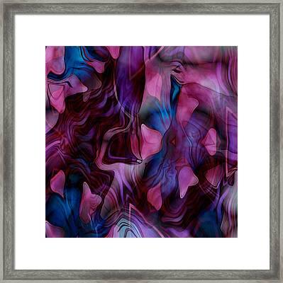 Rose Petal Framed Print