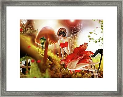 Rose  Framed Print by Prar Kulasekara