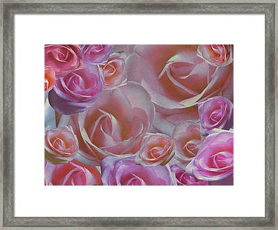 Rose Riot Framed Print