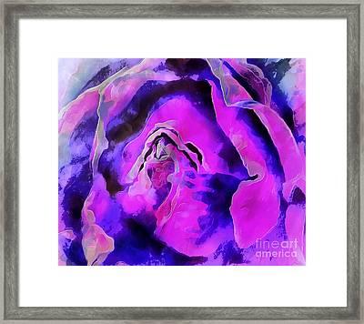 Rose Song Framed Print by Krissy Katsimbras