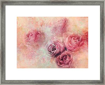 Rose Stillife Framed Print