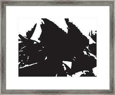 Rose Transformed Framed Print