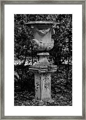 Rose Urn Framed Print by DigiArt Diaries by Vicky B Fuller
