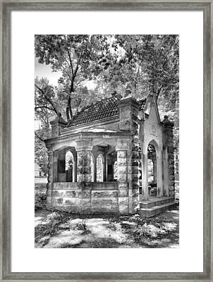Rose Well House Framed Print