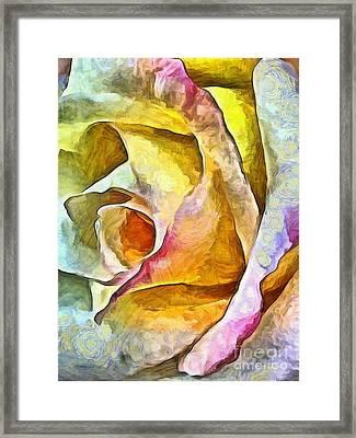 Rose Whimsy Framed Print