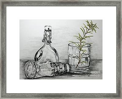Rosemary Framed Print by Terri Mills