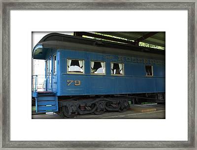 Rosenberg Train Framed Print by Dennis Stein