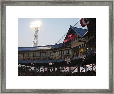 Rosenblatt Stadium Framed Print