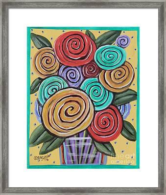Roses 1 Framed Print
