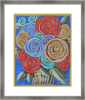 Roses 2 Framed Print by Karla Gerard