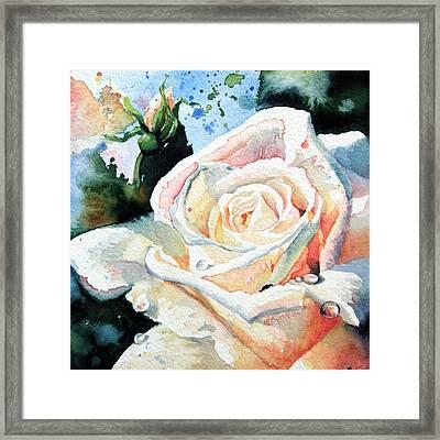 Roses 6 Framed Print by Hanne Lore Koehler