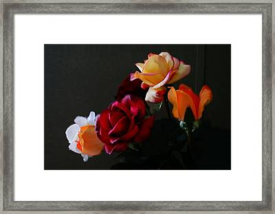 Roses Are Forever 1 Framed Print