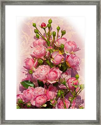 Roses Decor Framed Print by Lutz Baar