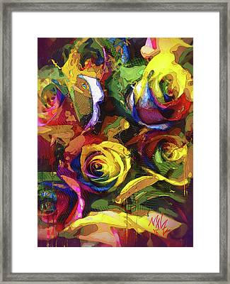 Roses Dream Framed Print
