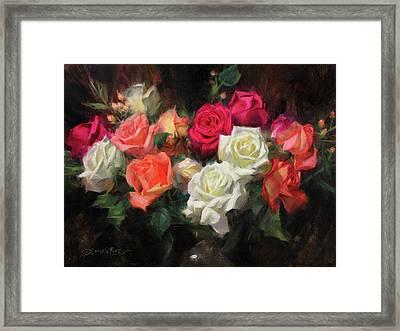 Roses For Kim Framed Print