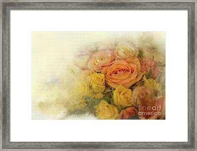 Roses For Mother's Day Framed Print by Eva Lechner