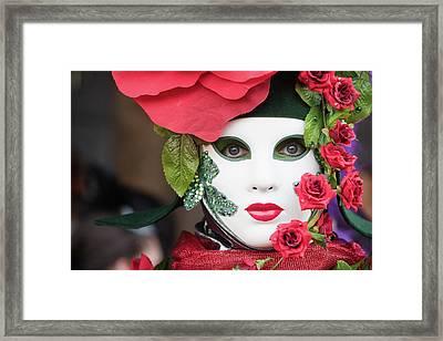 Roses I Framed Print by Stefan Nielsen