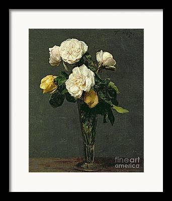 Decorative Floral Framed Prints