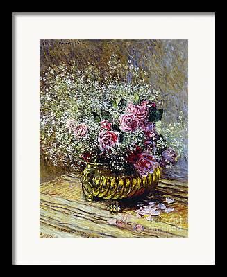 Tabletop Paintings Framed Prints