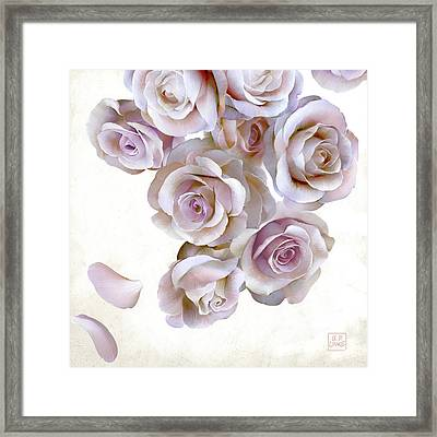 Roses Of Light Framed Print