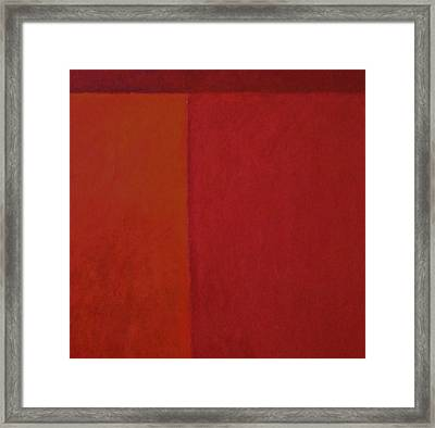Roses Red Framed Print by Chris  Riley