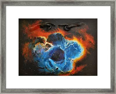 Rosetta Nebula Framed Print