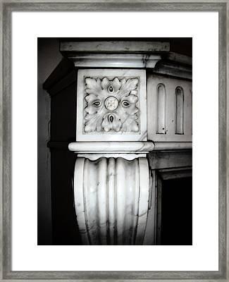 Rosette 1880 Framed Print