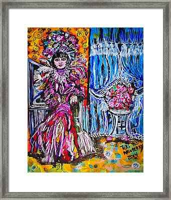 Rosette Galvez Framed Print by Teri Newberry