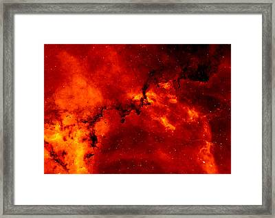Rosette Nebula Framed Print by Mountain Dreams