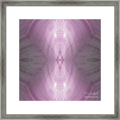 Rosey Light Phantom Framed Print