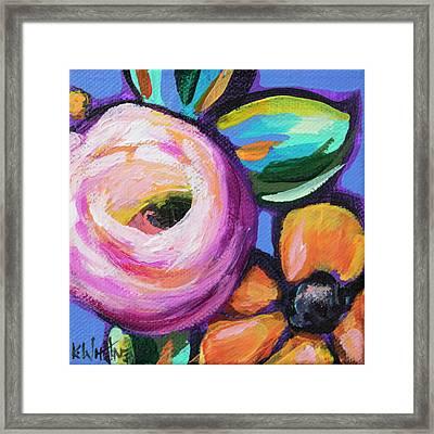 Rosey Senorita Framed Print
