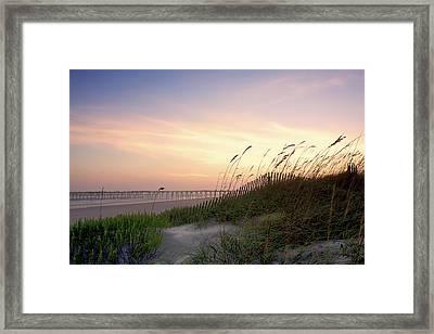 Rosey Sunset 1 Framed Print by Alan Hausenflock