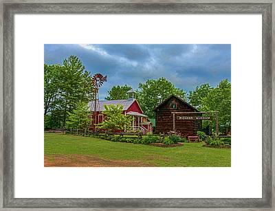 Rosholt Pioneer Park Framed Print by Trey Foerster