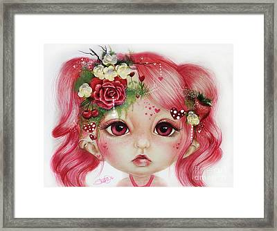 Rosie Valentine - Munchkinz Collection  Framed Print by Sheena Pike
