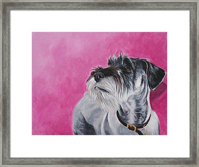 Rosie Framed Print by Wendy Whiteside