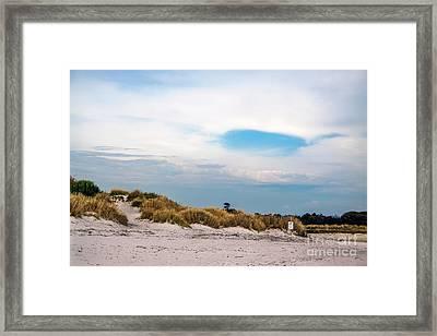 Rosignano Beach Framed Print